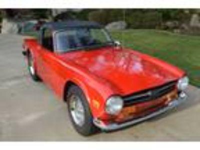 1974 Triumph TR-6 Convertible