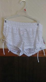 New with tag Cute bathing suit cover up shorts size small