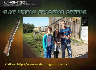 Get best clay pigeon shooting offers from AA Shooting School, Dorset, UK