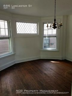 Single-family home Rental - 886 Lancaster St