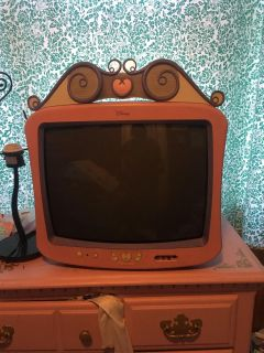 Tv with VHS & DVD player