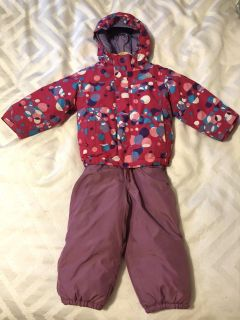 North Face 2T winter jacket and babyGAP snow pants