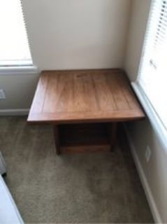 Solid wood side/coffee table (2 available)