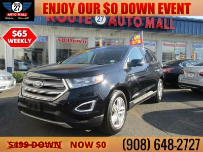 2017 Ford Edge SEL FWD (Black)