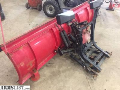 For Sale: 8ft western snow plow unimount