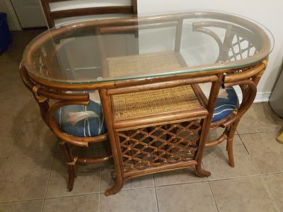 Little bistro table and chair set