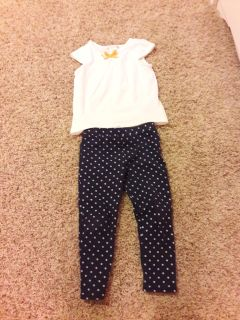 Toddler girl 3T Maggie & Zoe outfit