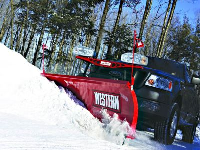 "2018 Western Products HTS 7' 6"" Snow Plow Blades Erie, PA"