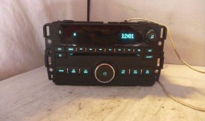 Buy 2009 2010 2011 2012 Chevrolet Traverse Radio Cd Player Aux 25941139 S0570 motorcycle in Williamson, Georgia, United States, for US $145.00