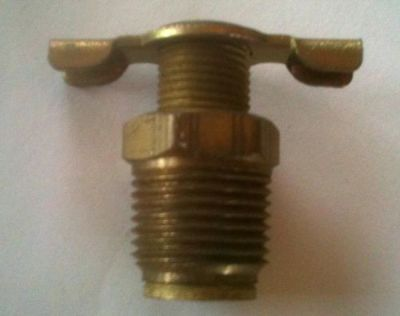 "Sell Brass 1/8"" Block Drain Cock B125DC for Radiators @ Speed Tech motorcycle in Cary, Illinois, United States, for US $5.99"