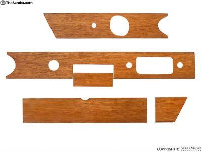 Wood Dash Trim Set With Frame, 911 (1966)