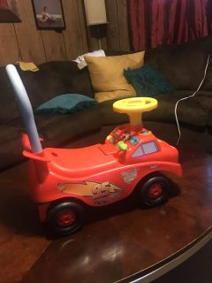 Cars ride on