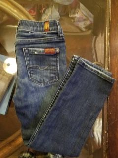 Girls 7 for all Mankind Jean's Size 5