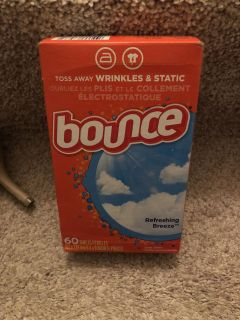 Bounce dryer sheets ((MOVING SALE))