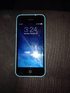 ATT iPhone 5c Blue Brand New