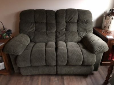 Lazy boy Living room set couch love seat 2 recliner/rocker