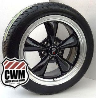 "Buy 17x8"" Classic 5 Spoke Black Wheels Rims Federal Tires for Chevy Camaro 1980 motorcycle in Grand Terrace, California, US, for US $1,069.00"