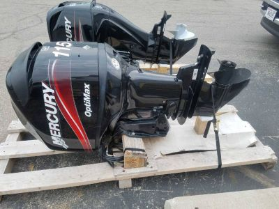 2005 Mercury Marine OptiMax 115 20 in. 4-Stroke Outboard Motors Kaukauna, WI
