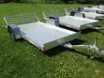 2018 Bear Track by Voyager Ind BTU65120S SA ALUM Equipment Trailer Trailers Elkhorn, WI