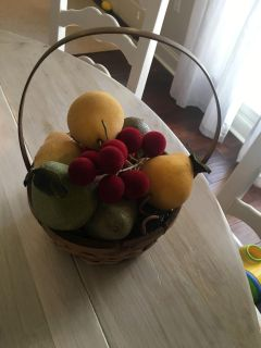 Fruit for tree, wreath, or decor