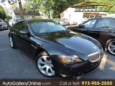 2007 BMW 6-Series 650i (Jet Black)