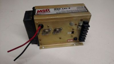 Sell MSD 7220 7AL-2 CD Gold Ignition Box System Universal NHRA IHRA V8 motorcycle in Melbourne, Florida, United States, for US $349.99