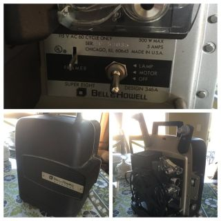 Bell Howell auto load film projector