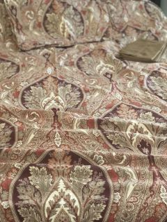 Queen Pottery Barn Duvet with Shams and Pillow Cases