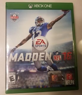 Madden 16 Xbox One Game