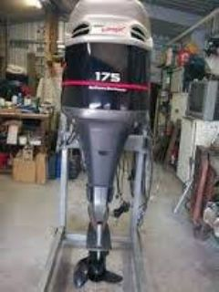 Used Yamaha 175HP 4 Stroke Outboard Motor Engine