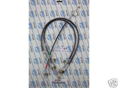 Find EZ Slider Cable set,NonAir 1966 1967 GTO Tempest Lemans [26-5567] motorcycle in Fort Worth, Texas, US, for US $54.00