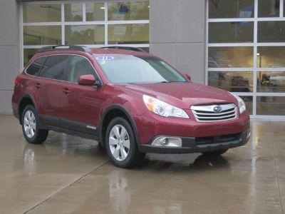 2011 Subaru Outback 2.5i Premium (Ruby Red Pearl)
