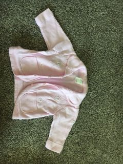 George baby organic sweater