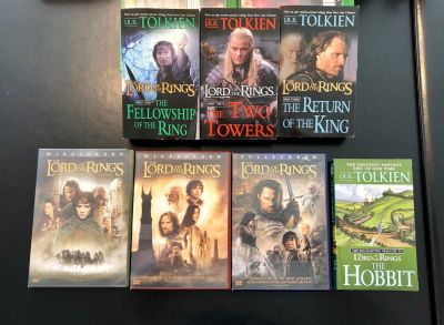 Lord of The Ring Book & DVD Set