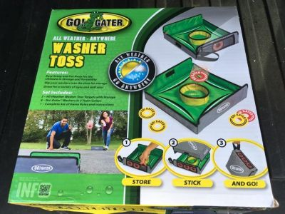 New in box Go Gator Washer Toss