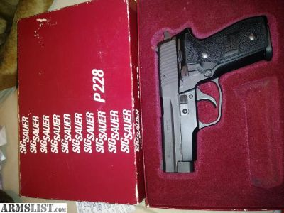 For Trade: Sig Sauer P228 West German