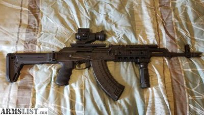 For Sale/Trade: AK47 Romanian 1988 WASR 10/63 with a lot of upgrades