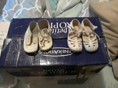 Antiques Children Shoes