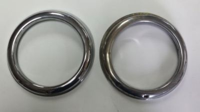Sell Mercedes Benz 190 SL headlight rings,Bosch OEM , 55-63 motorcycle in La Center, Washington, United States