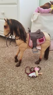 Our Generation doll horse