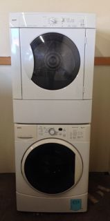 Kenmore Stacked Detached Washer Dryer