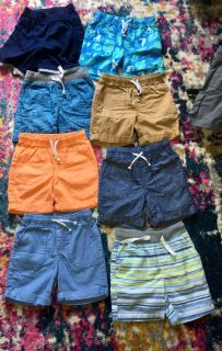 Boys shorts size 3T/ only pair that have been worn are the coral shorts