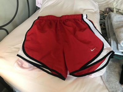 Red bike running shorts! Perfect condition!
