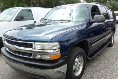2001 Chevrolet Suburban 1500 (Indigo Blue Metallic)