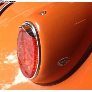 VW Beetle rear tail light visors peaks bus visor