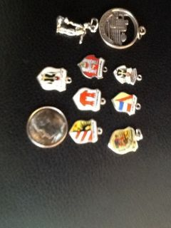 Souvenir Travel Charms / Shields