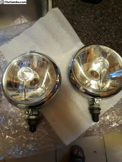 Marchal fog lights with stone guards