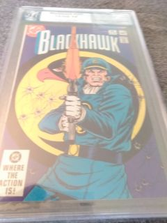 Blackhawk #253 PGX 9.0