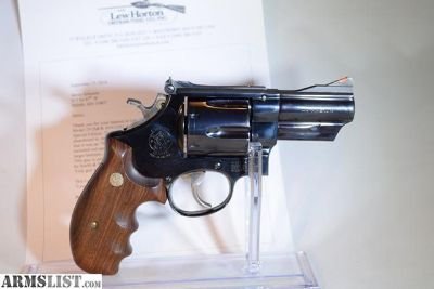For Sale: Smith and Wesson Lew Horton 3 Inch Model 29, 44magnum W/Letter and Box