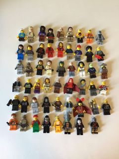 53 LEGO minifigures people city legos